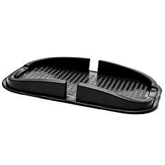 Suport telefon Logic antialunecare pentru bordul masinii, negru