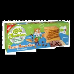 Biscuiti Bio cu quinoa si ciocolata Bio Junior 135g