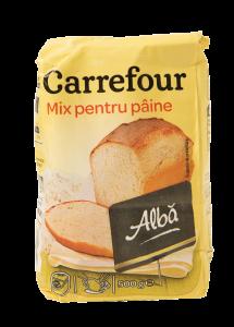 Mix pentru paine alba Carrefour 500g