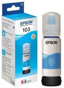 Flacon Epson 103 EcoTank, 70 ml, Cyan