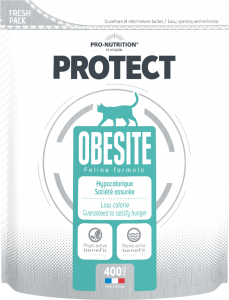 Hrana dietetica pentru pisici cu nevoi nutritionale speciale sau obeze, Protect Obesity, 400 g