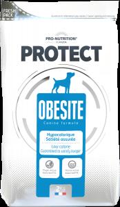 Hrana hipocalorica pentru caini, Flatazor Protect Obesity, 2 kg