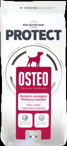 Hrana pentru caini cu afectiuni ale oaselor sau articulatiilor, Flatazor Protect Osteo, 12 kg