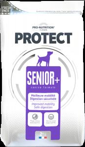 Hrana completa pentru caini slabiti, Flatazor Protect Senior+, 2 kg