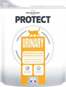 Hrana dietetica pentru pisici cu nevoi nutritionale speciale sau cu afectiuni ale tractului urinar, Protect Urinary, 400 g.