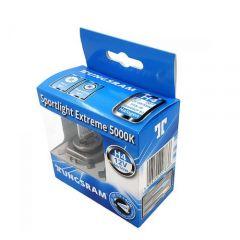 Set 2 becuri auto cu halogen H4 Tungsram Sportlight Extreme, 5000K, 12V, 55W, P43T