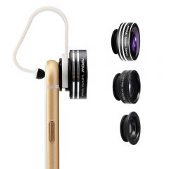 Set lentile foto, Mpow Supreme 3 in 1, Black