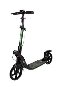 Trotineta adulti, Mad Wheels Urban Master, suspensie dubla, Negru