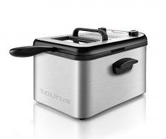 Friteuza Taurus Professional 3 Max, 2400 w, 3 l, timer, full inox, filtru mirosuri