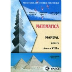 Matematica. Manual clasa a VIII-a