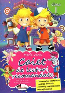 Caiet de lecturi recomandate, clasa I editie revizuita