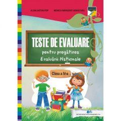 Teste de evaluare pentru pregatirea Evaluarii Nationale clasa a IV-a