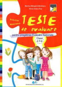 Teste de evaluare pentru pregatirea evaluarii nationale. Clasa a II-a. Scris - Citit. Matematica