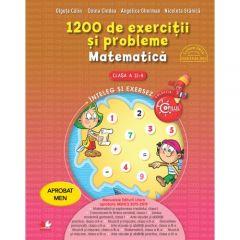 1200 de exercitii si probleme. Matematica. Clasa a II-a