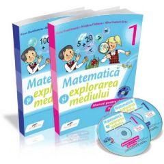 Matematica si explorarea mediului - Manual pentru clasa I (partea I si partea a II-a)