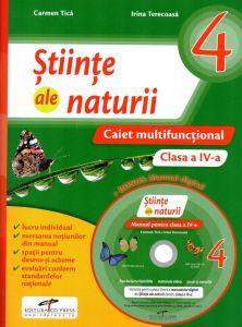 Stiinte ale naturii caietul elevului clasa a IV-a ( contine CD )