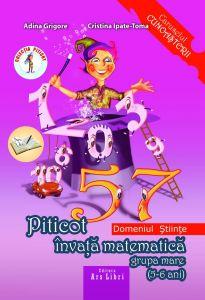 Piticot invata matematica 5-6 ani