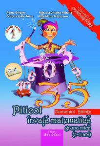 Piticot invata matematica 3-4 ani