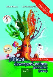 Piticot descopera natura 4-5 ani