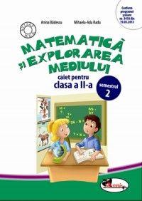Matematica si explorarea mediului. Caiet pentru clasa a II-a, semestrul 2. Dupa manualul ARAMIS