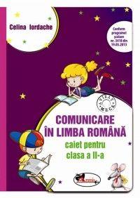 Comunicare in limba romana, Caiet pentru clasa a II-a (mov) dupa manualul ART