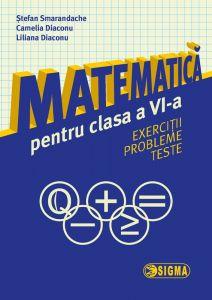 Matematica pentru clasa a VI-a. Exercitii. Probleme. Teste