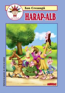 Harap-Alb - Carticica de povesti, de citit si colorat