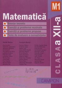 Matematica M1, Clasa a XII-a. Culegere de exercitii si probleme