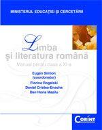 Limba si Literatura Romana / Simion Manual pentru cls a-XI-a