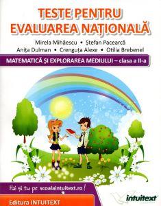 Matematica si explorarea mediului - clasa a II-a. Teste pentru evaluarea nationala