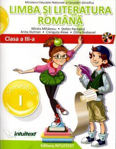 Limba si literatura romana. Manual pentru clasa a III-a. Semestrul I + II (editie tiparita+editie digitala)