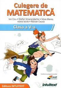Matematica - Culegere pentru clasa a V‑a