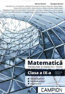 Matematica probleme si exercitii, teste, clasa a IX-a semestrul II. Profil tehnic