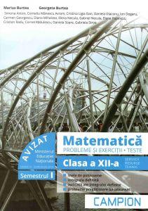 Matematica probleme si exercitii, teste, clasa a XII-a semestrul I. Profil tehnic