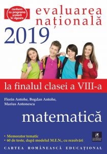 Evaluarea Nationala. Clasa a VIII-a. Matematica