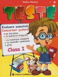 Teste. Evaluare sumativa. Concursuri scolare. Clasa I