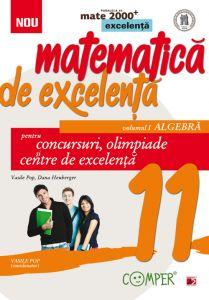 Matematica de excelenta. Pentru concursuri, olimpiade si centrele de excelenta. clasa a XI-a. volumul I – algebra