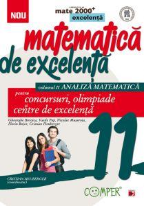 Matematica de excelenta. Pentru concursuri, olimpiade si centrele de excelenta. Clasa a XI-a. volumul II – analiza matematica