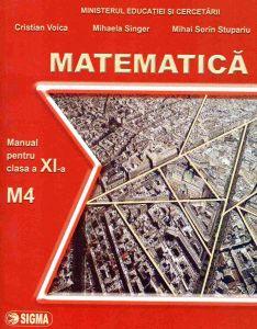 Matematica. Manual M4 clasa a XI-a