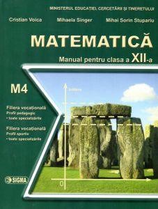 Matematica. Manual M4 pentru clasa a XII-a