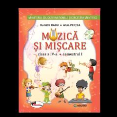 Muzica si miscare. Manual pentru clasa a IV-a (sem I+sem II, contine editie digitala)