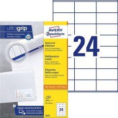 Etichete universale Avery-Zweckform 3475, 70x36 mm