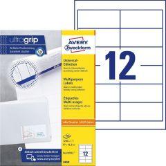 Etichete universale Avery-Zweckform 3659,  97x42,3 mm