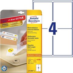 Etichete repozitionabile Avery-Zweckform L4733-25