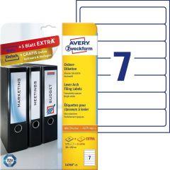 Etichete pentru biblioraft Avery-Zweckform L4760-25