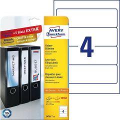 Etichete pentru biblioraft Avery-Zweckform L4761-25