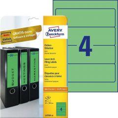 Etichete pentru biblioraft Avery-Zweckform L4768-20