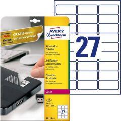 Etichete pentru sigilii Avery-Zweckform L6114-20