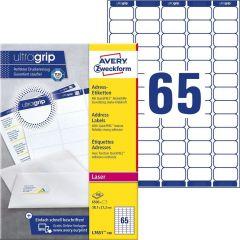 Etichete universale Avery-Zweckform 7651-100, 38,1x21,2 mm