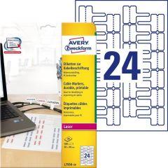 Etichete pentru cabluri Avery-Zweckform L7950-20